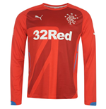 2014-15 Rangers 3rd Long Sleeve Shirt