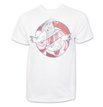 GHOSTBUSTERS Logo Men's White T-Shirt