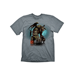DEFENSE OF THE ANCIENTS (DOTA) 2 Roshan Small T-Shirt, Grey