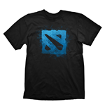 DEFENSE OF THE ANCIENTS (DOTA) 2 Logo Small T-Shirt, Black