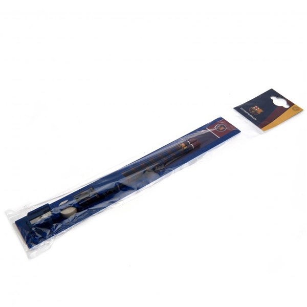 F.C. Barcelona 30cm Ruler Set