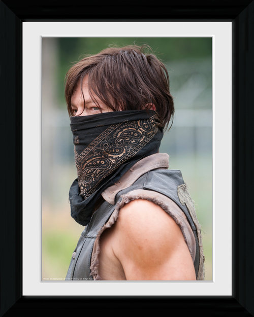 The Walking Dead Daryl Balaclava Collector Print