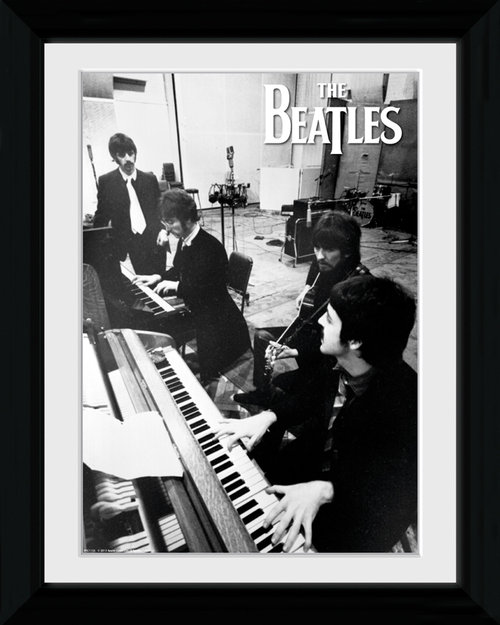 The Beatles Studio Collector Print