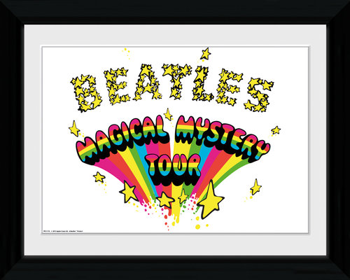The Beatles Magical Mystery Collector Print