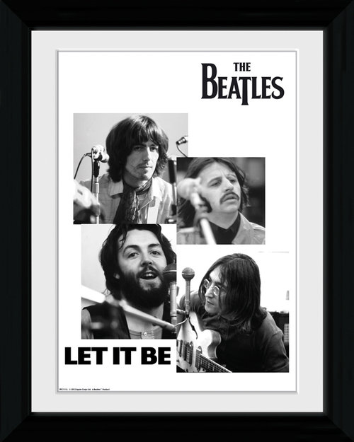 The Beatles Let It Be Collector Print