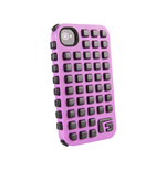 G-FORM iPhone 4 / 4S Extreme Grid Case, Pink Case/Black RPT