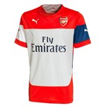 2014-2015 Arsenal Puma Training Shirt (Red)