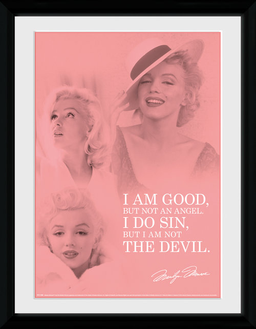 Marilyn Monroe Angel Framed Collector Print