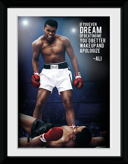 Muhammad Ali Dream Framed Collector Print