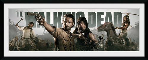 The Walking Dead Survival Framed Collector Print