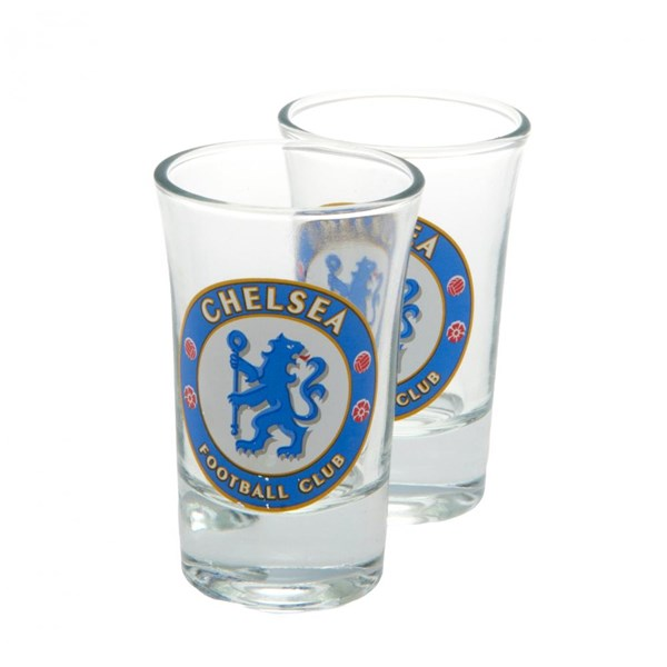 Chelsea F.C. 2pk Shot Glass Set