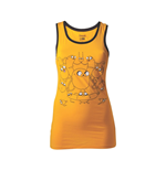 ADVENTURE TIME Jake Medium Tank Top, Yellow/Black
