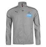 2014-2015 Newcastle Puma Walkout Jacket (Grey)