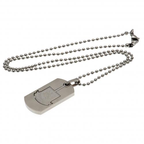 West Ham United F.C. Dog Tag & Chain CO