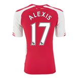 2014-15 Arsenal Home Shirt (Alexis 17)