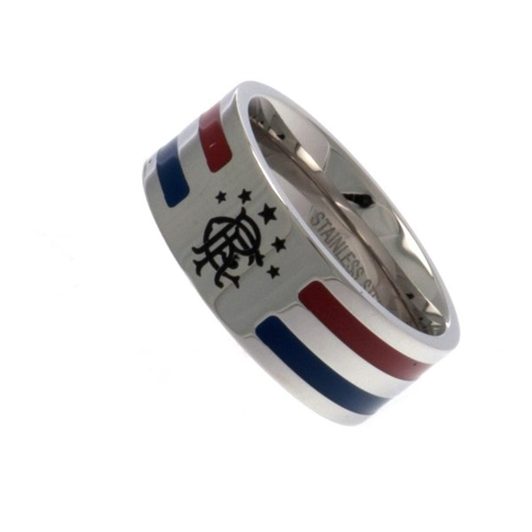 Rangers F.C. Colour Stripe Ring Large