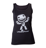 LITTLE BIG PLANET Girls Sackboy Extra Large Tank Top, Black
