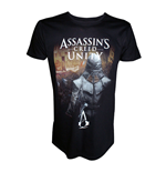 ASSASSIN'S CREED Unity Arno: Streets of Paris Medium T-Shirt, Black