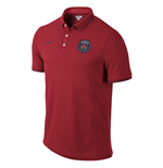 2014-2015 PSG Nike Authentic League Polo Shirt (Red)