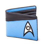STAR TREK Into Darkness Science Logo Bi-fold Wallet, Blue/Dark Grey