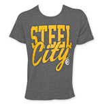 Junk Food NFL PITTSBURGH STEELERS Men's Steel City Tee Shirt