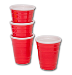 Red Solo Cup Shooters Set of 4