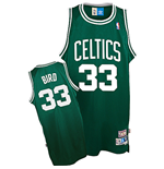 adidas Boston Celtics #33 Larry Bird Soul Swingman Road Jersey
