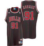 adidas Chicago Bulls #91 Dennis Rodman Soul Swingman Alternate Jersey