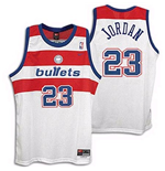 Washington Bullets Michael Jordan Throwback Swingman Jersey