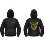 Transformers Sweatshirt Gold Autobot Shield