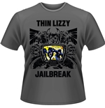 Thin Lizzy T-shirt Jailbreak (GREY)