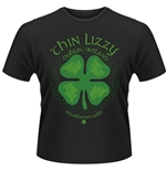 Thin Lizzy T-shirt Four Leaf Clover