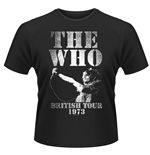 The Who T-shirt British Tour 1973