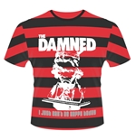 The Damned T-shirt I Just CAN'T Be Happy Today (STRIPES)
