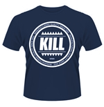 Kill Brand T-shirt Swag Logo Circle (BLUE)