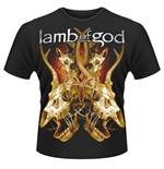 Lamb Of God T-shirt Tangled Bones