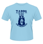 Frank Zappa T-shirt Zappa For President (BLUE)