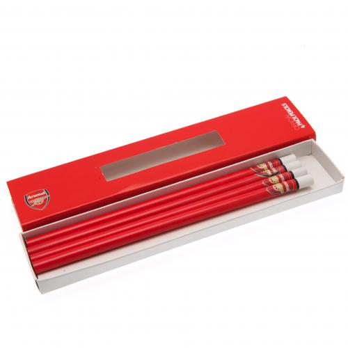 Arsenal F.C. Pencils Set 4pk