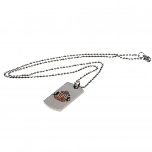 Sunderland A.F.C. Colour Crest Dog Tag