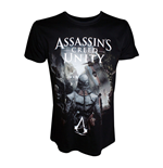 ASSASSIN'S CREED Unity Arno on Streets of Paris Small T-Shirt, Adult Male, Black