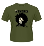 Jimi Hendrix T-shirt Close Up