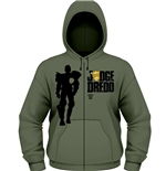 Judge Dredd Sweatshirt Silhouette