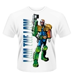 Judge Dredd T-shirt I Am The Law 2