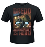 Judge Dredd T-shirt Judgement Is Here