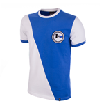 Arminia Bielefeld 1971/72 Short Sleeve Retro Shirt 100% cotton