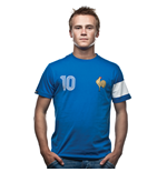 France Capitaine T-Shirt // Blue 100% cotton