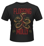 Flogging Molly T-shirt Snake