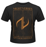 Night Verses T-shirt Lift Your Existence