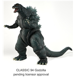 Godzilla Head to Tail Action Figure Classic Series 1 1994 Godzilla 30 cm