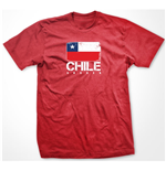Chile Soccer T-shirt (red)